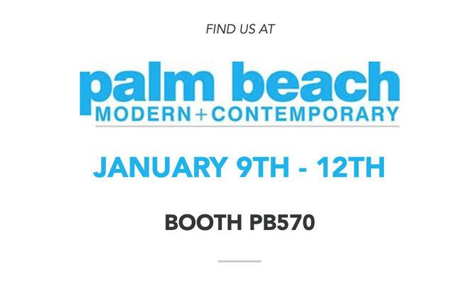 Bel-Air Fine Art at Palm Beach Modern + Contemporary 2020, installation view
