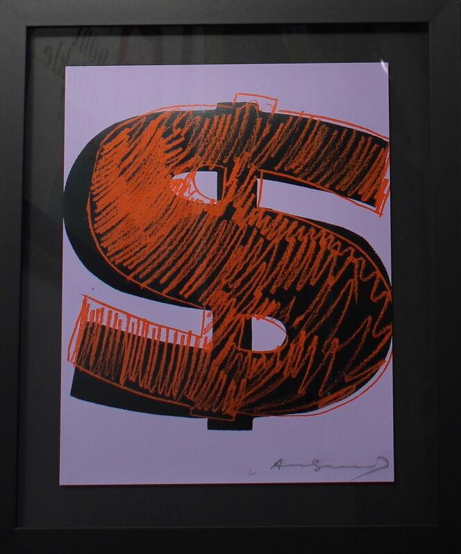 Andy Warhol, 'Dollar Sign (FS II.276)', 1982, Print, Screenprint on Lenox Museum Board., Revolver Gallery
