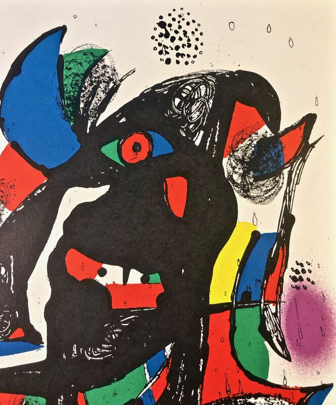 Joan Miró, 'Lithographie Originale II', 1981, Print, Original Lithograph, Inviere Gallery