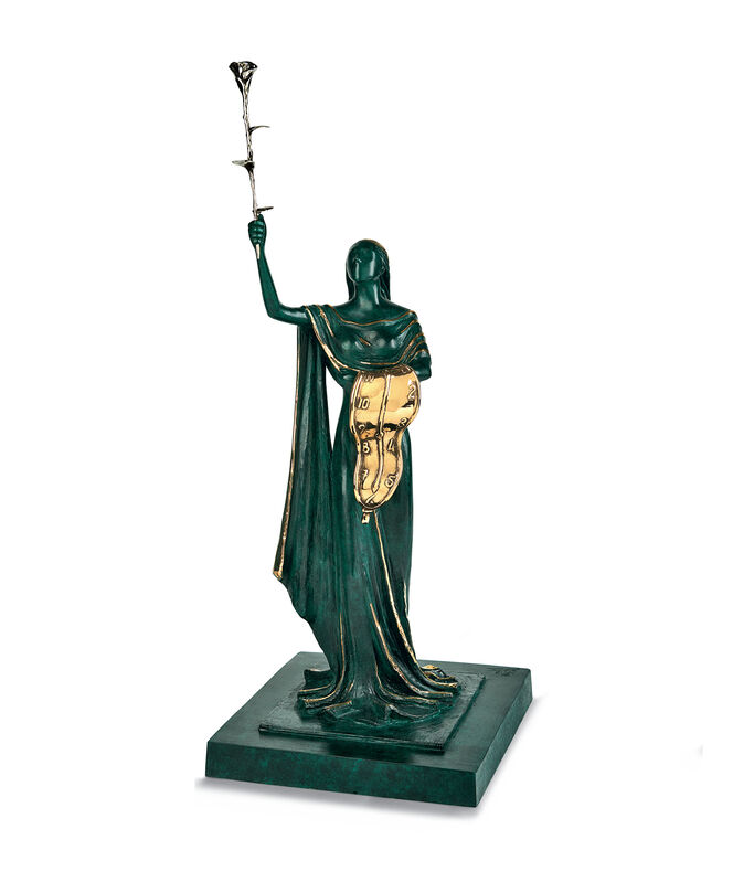 Salvador Dalí, 'Women of Time ', 1984, Sculpture, Bronze, lost wax process, Cha Cha Gallery
