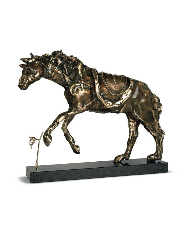 Salvador Dalí, 'Horse Saddled With Time', 1980, Sculpture, Bronze lost wax process, Dali Paris