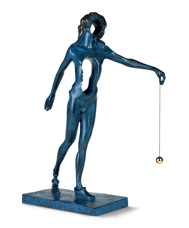 Salvador Dalí, 'Surrealist Newton', 1977, Sculpture, Bronze lost wax process, Dali Paris
