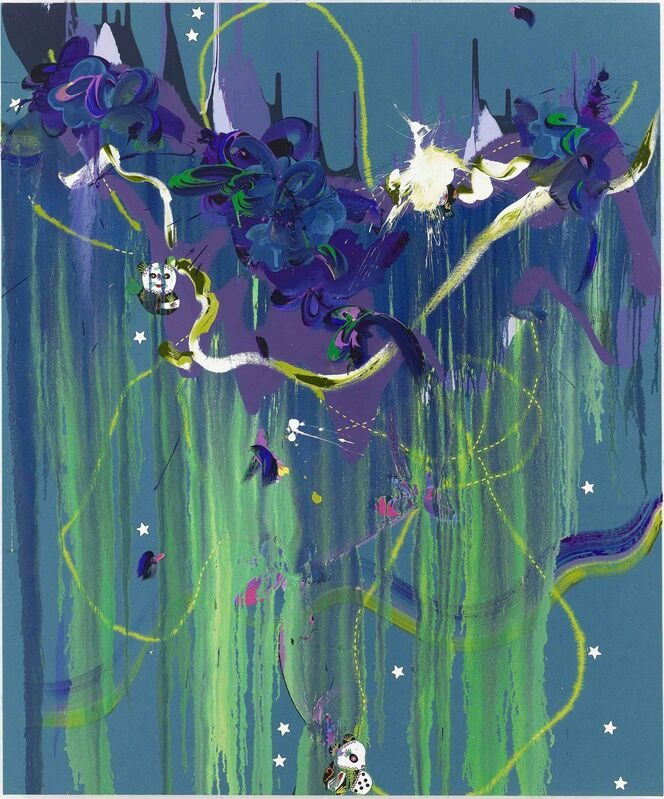 Fiona Rae, 'Hope always sees beautiful things', 2012, Painting, Oil and acrylic on canvas, Galerie Nathalie Obadia