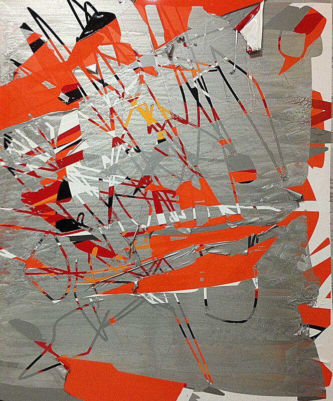 Alejandro Contreras, 'Untitled', 2018, Painting, Aluminum, vinyl and acrylic paint, Mindy Solomon Gallery