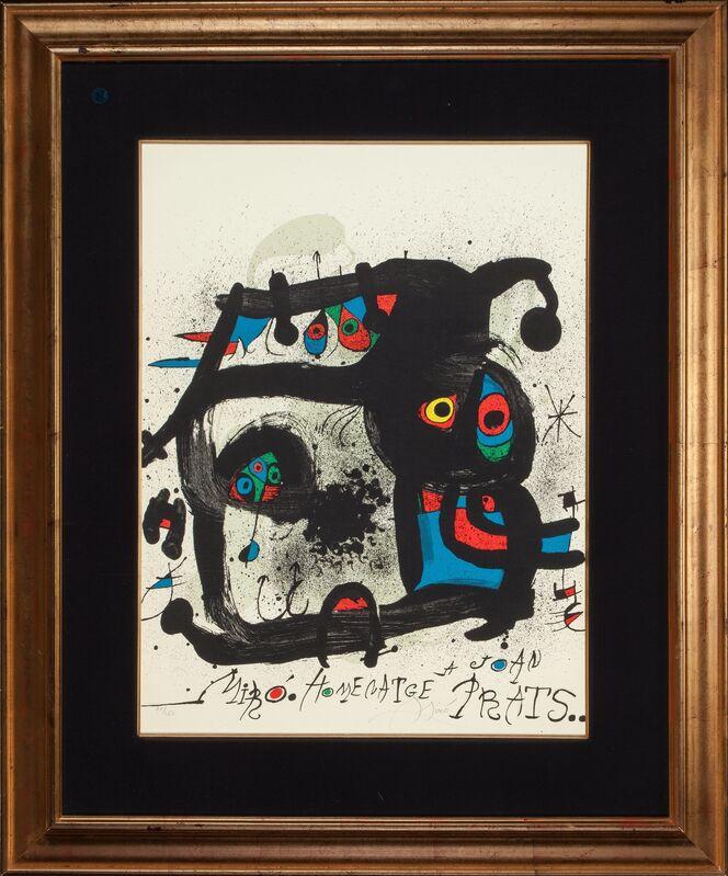 Joan Miró, 'Homenatge a Joan Prats', 1972, Print, Lithograph in colors, Heritage Auctions