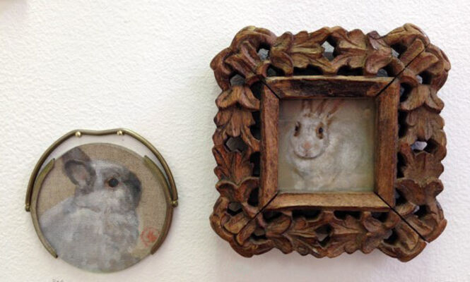 Have Many Rabbit, installation view