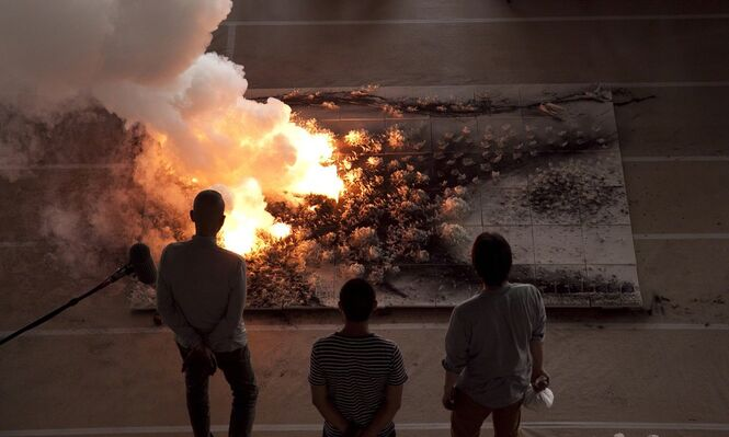 Cai Guo-Qiang: The Ninth Wave at the Power Station of Art, installation view