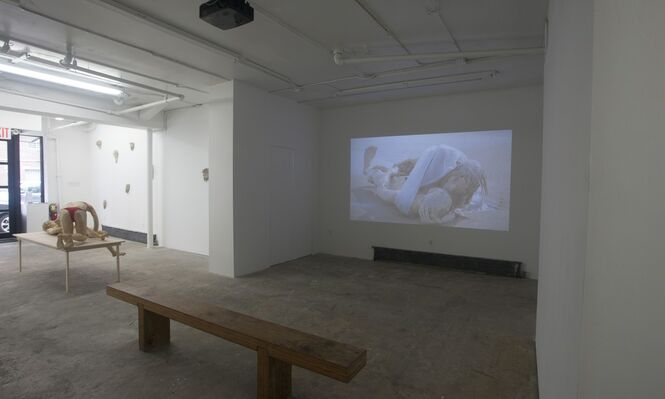 Juan Pablo Langlois : Afterwards no one will remember, installation view