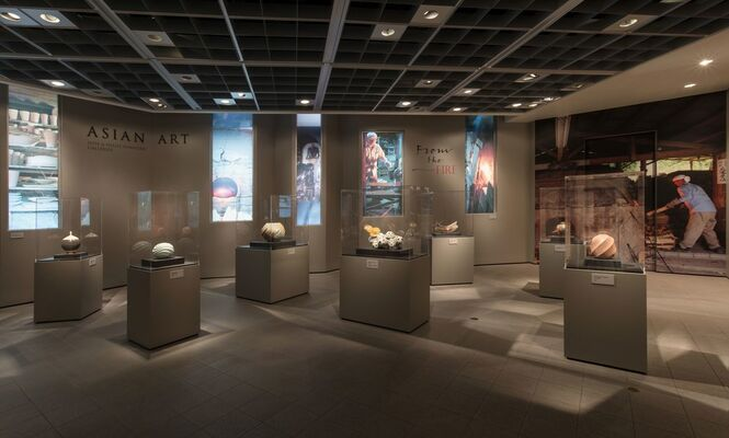From the Fire: Contemporary Japanese Ceramics from the Robert and Lisa Kessler Collection, installation view