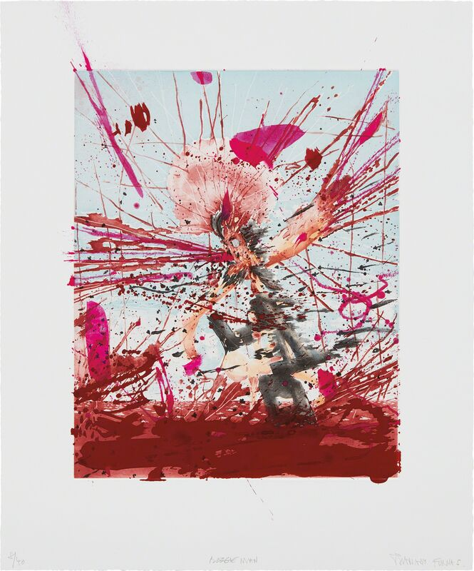 Barnaby Furnas, 'Boogie Man', 2006, Print, Etching and aquatint in colors with hand-coloring, on wove paper, with full margins, Phillips