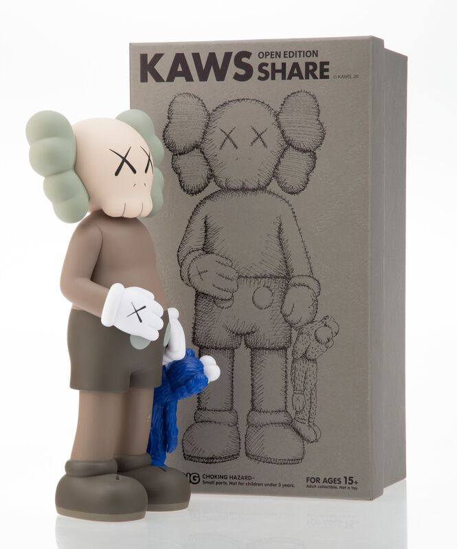 KAWS, 'Share', 2020, Sculpture, Painted cast vinyl, Heritage Auctions