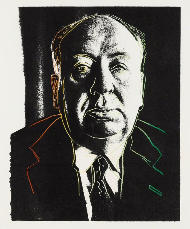 Andy Warhol, 'Alfred Hitchcock F&S IIIB.14a', 1983, Print, Screenprint on Saunders Waterford (Hot Pressed) paper, Fine Art Mia