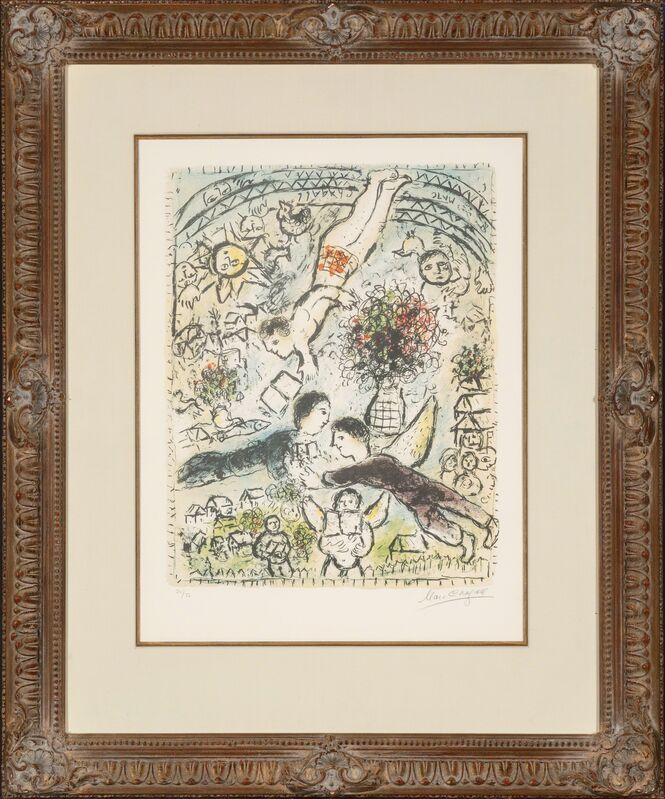 Marc Chagall, 'Le Ciel', 1984, Print, Lithograph in colors, Heritage Auctions