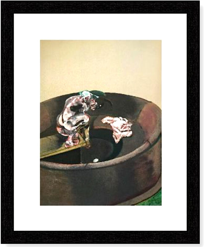 Francis Bacon, 'George Dyer Crouching', 1966, Print, Velum paper, Modern-Originals