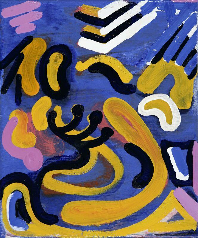 George Blacklock, 'Pieta Revisited 2', 2007, Painting, Oil on canvas, Flowers