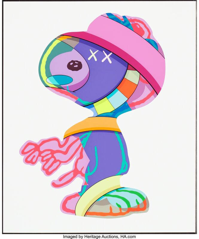 KAWS, 'The Thing's That Comfort, Stay Steady, and No One's Home', 2015, Print, Silkscreens in colors on paper, Heritage Auctions