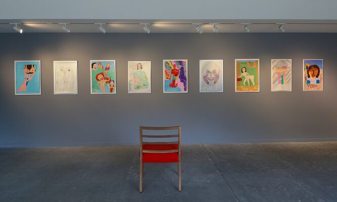Reza Shafahi / This Moment, installation view