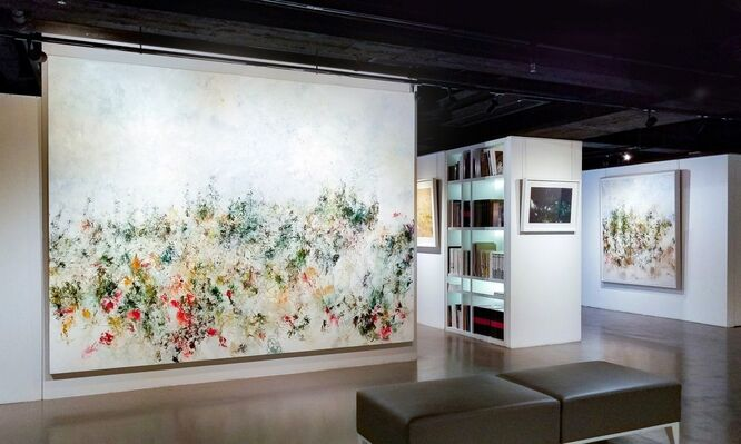 Consciousness of Color, Color of Consciousness • Solo Exhibition of Myonghi, installation view