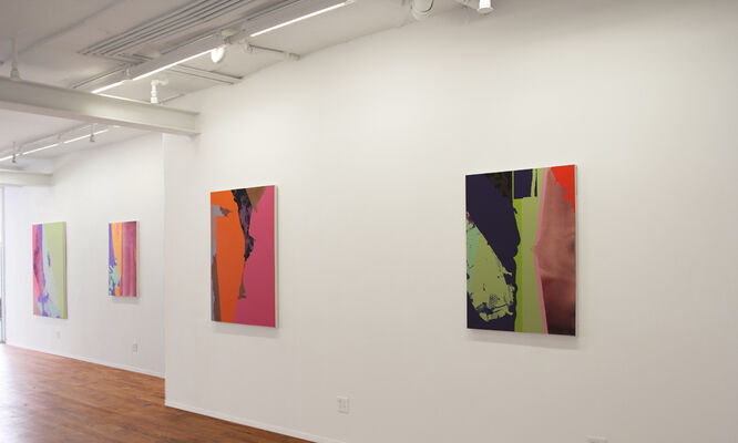 Stacks and Subdivisions, installation view