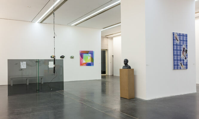 Art Post-Internet, installation view