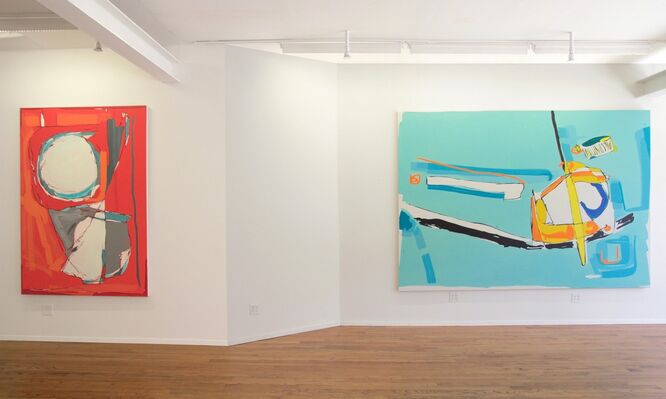 William Bradley :  I'll Meet You There, installation view