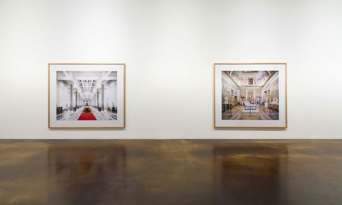 Spaces of Enlightenment, installation view
