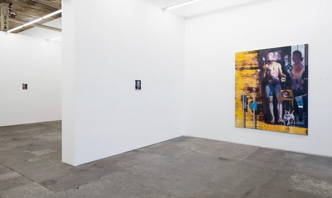 Rayk Goetze: Über Mütter, installation view