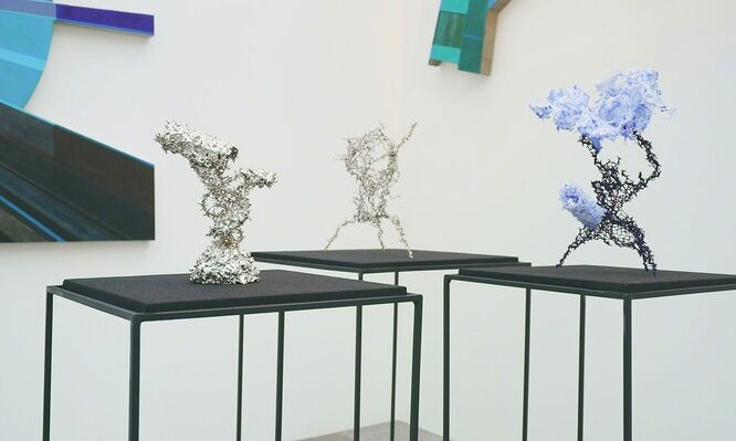 Anna Nova Gallery at Cosmoscow 2016, installation view