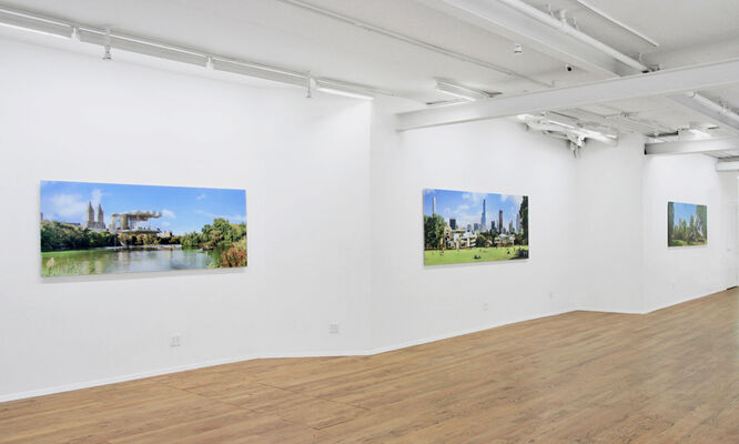 Dialectical Landscape - Thinking Central Park, installation view