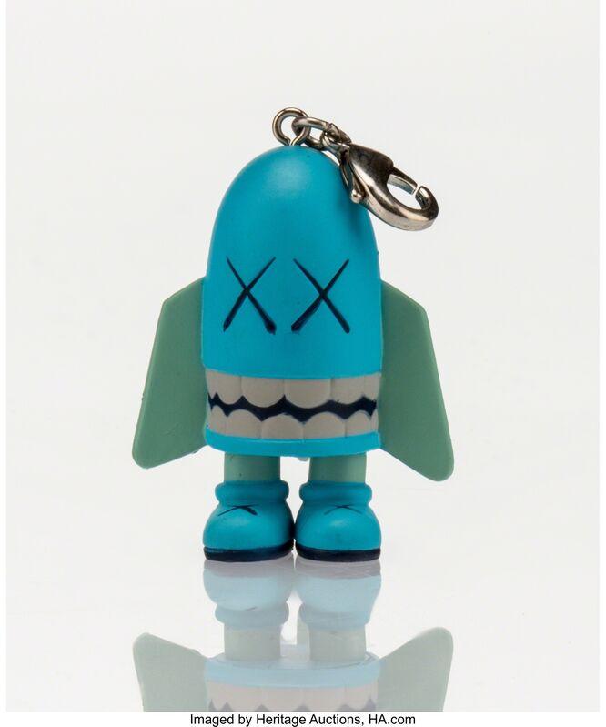 KAWS, 'Blitz Keychain (Blue)', 2011, Other, Painted cast vinyl, Heritage Auctions
