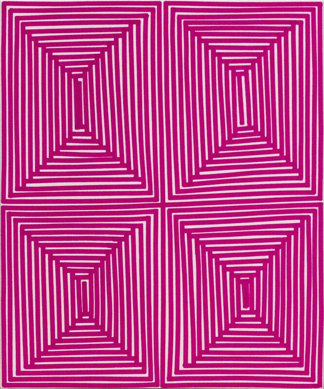 Bradley Harms, 'Magenta Coffer (Geo)', 2014, Painting, Acrylic on Canvas, Newzones