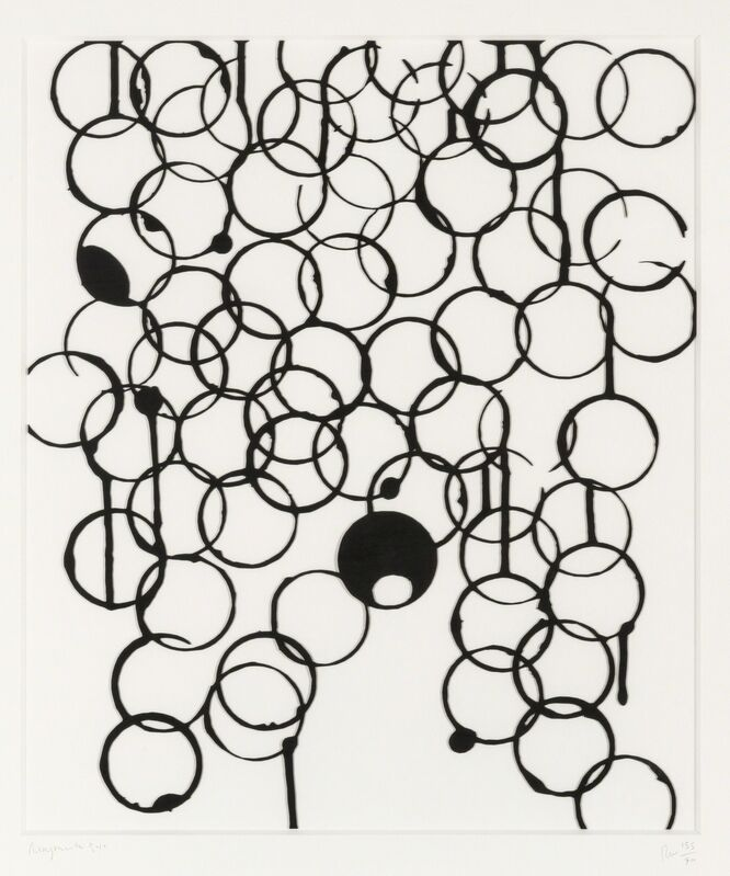 Rachel Whiteread, 'Ringmark', 2010, Print, Laser-cut relief multiple in stained-black plywood, Forum Auctions