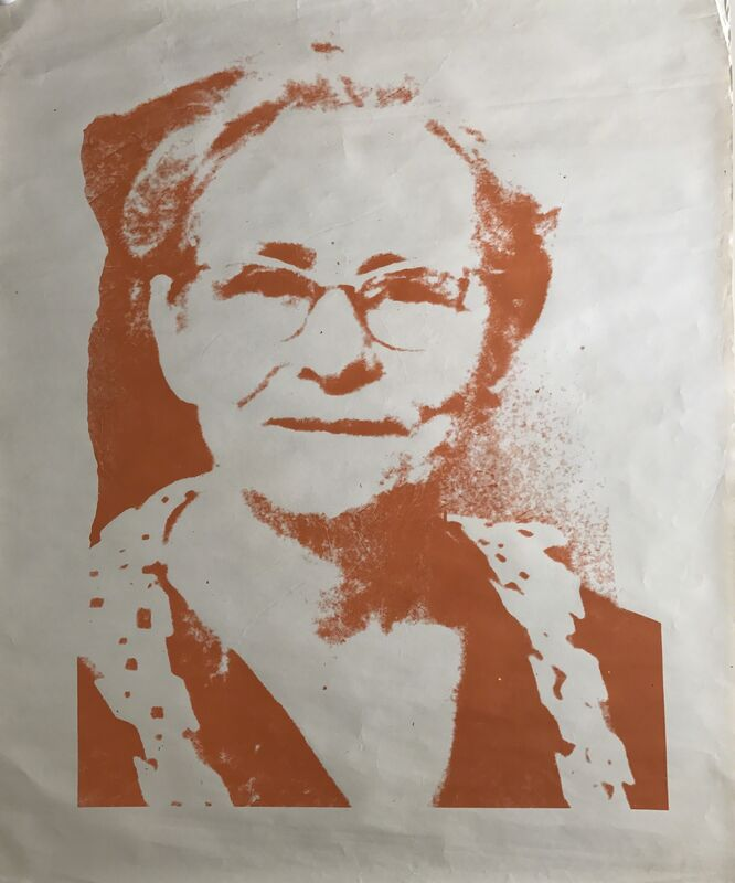 """Andy Warhol, '""""Julia Warhola""""', 1974, Print, Silkscreened red ink on paper, MultiplesInc Projects"""