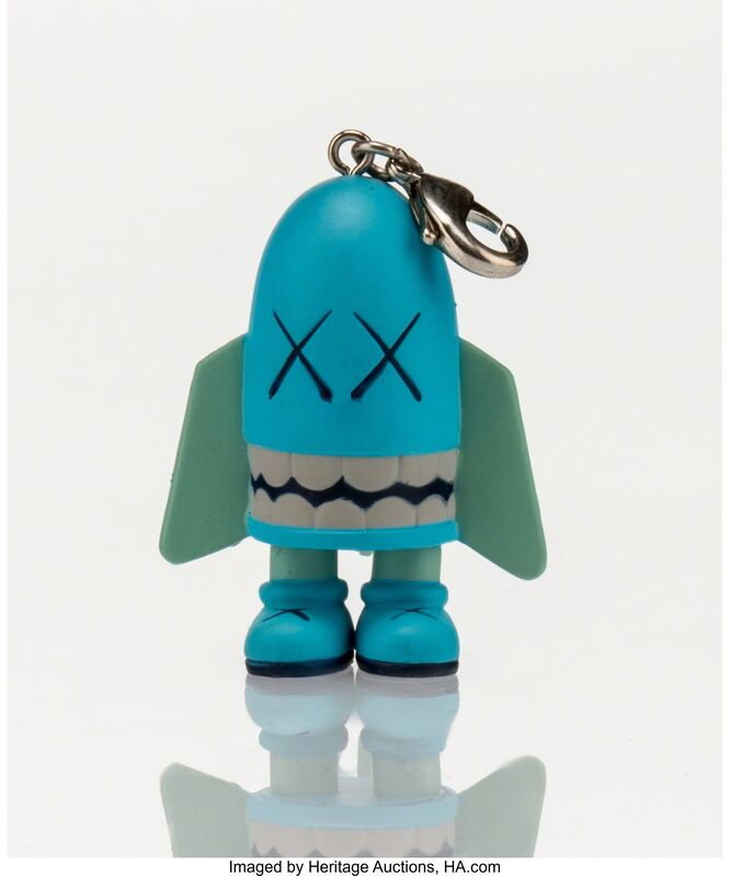 KAWS, 'Blitz (Blue), keychain', 2011, Other, Painted cast vinyl, Heritage Auctions