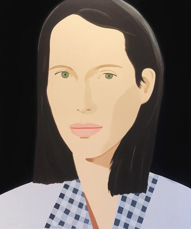 Alex Katz, 'Christy', 2013, Print, Screenprint, Hamilton-Selway Fine Art Gallery Auction