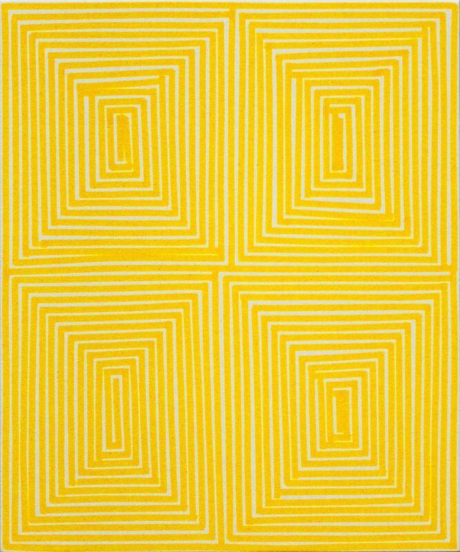 Bradley Harms, 'Yellow Coffer (Geo)', 2014, Painting, Acrylic on Canvas, Newzones