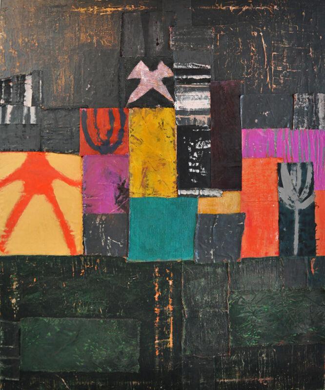 Kesha Bruce, 'I Am the Way Home', 2020, Painting, Mixed media on canvas, Morton Fine Art
