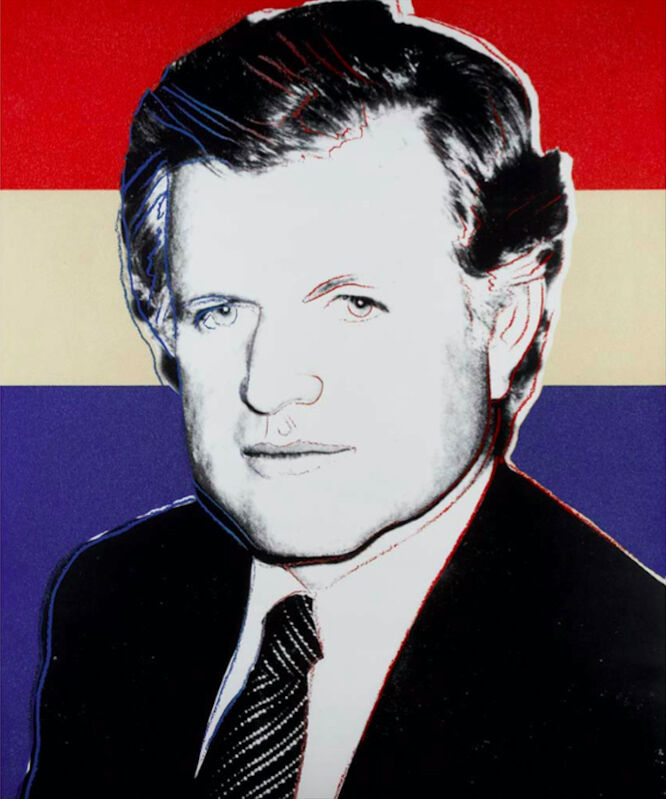 Andy Warhol, 'Edward Kennedy (Deluxe Edition)', 1980, Print, Screenprint in colours with diamond dust, BOCCARA ART