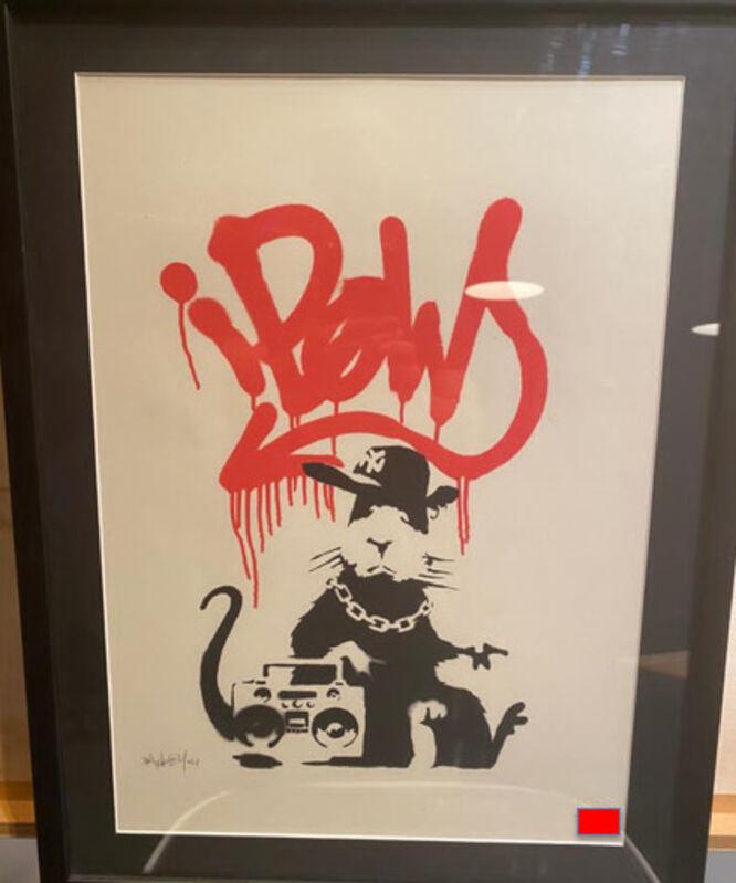 Banksy, 'Gangsta Rat', 2004, Print, Screen-print in colors on wove paper, MoonStar Fine Arts Advisors