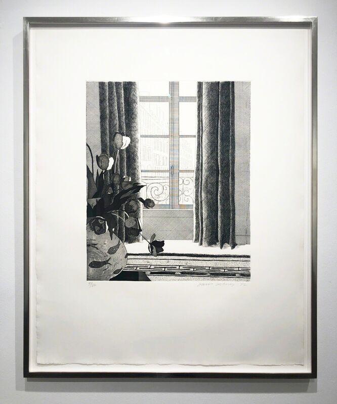 David Hockney, 'Rue de Seine (Museum of Contemporary Art, Tokyo 111)', 1972, Print, Etching and Aquatint, Leslie Feely