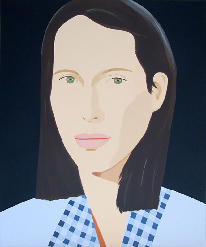 Alex Katz, 'Christy', 2013, Print, Silkscreen on paper, Taglialatella Galleries