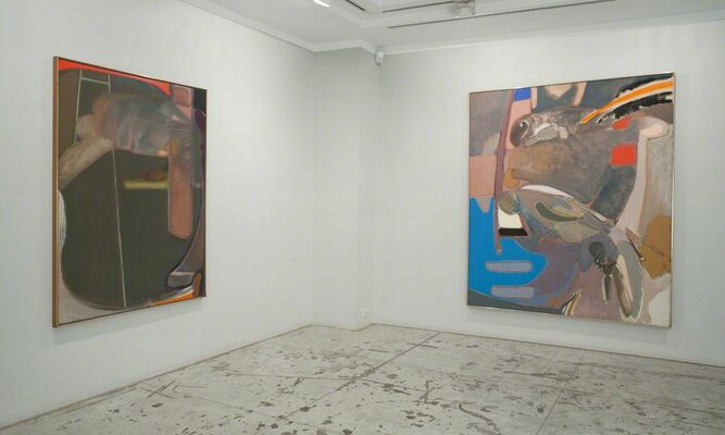 Stephen Greene: 1960s Abstractions, installation view