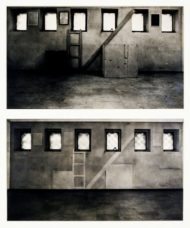 Claudio Parmiggiani, 'Delocazione', 1970, Photography, Photographic reproduction on 2 transparent films, Martini Studio d'Arte