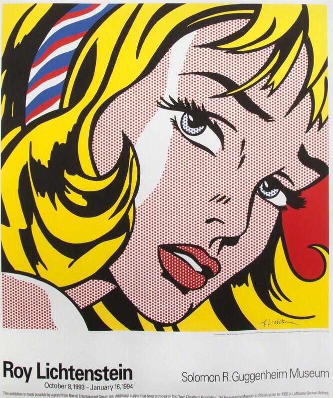 Roy Lichtenstein, 'Solomon R. Guggenheim Poster', 1994, Print, Inkjet on paper, Julien's Auctions