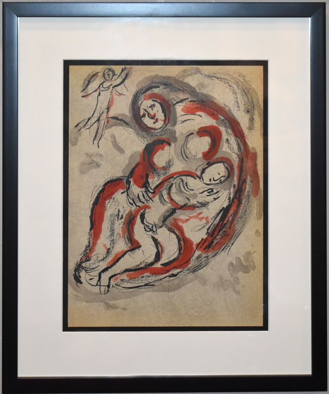 Marc Chagall, 'Hagar in the Desert', 1960, Print, Lithograph, Georgetown Frame Shoppe