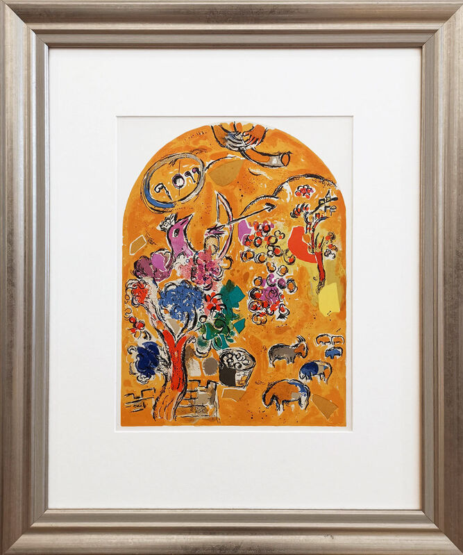 Marc Chagall, 'Jerusalem Windows – Joseph', 1962, Print, Lithograph on cardboard, Galerie Kellermann