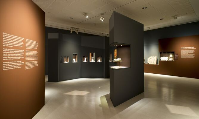 Life Is Short, Art Long: The Art of Healing in Byzantium, installation view