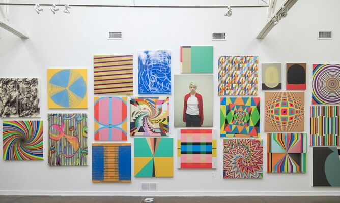WAKING UP IN A RAINBOW, installation view