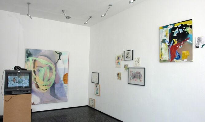 Blue Rider in the sky, Part 2, installation view