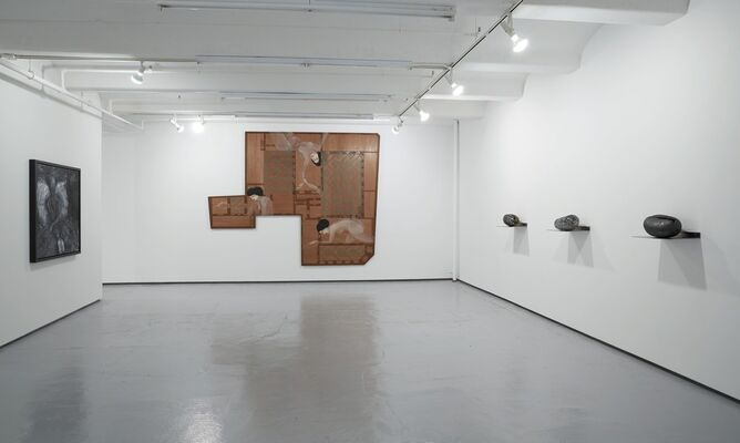 The Shape of Things, installation view